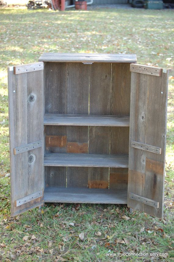 Liquor Cabinet Recycled Wood Cabinet. Whiskey Storage Cabinet. Recycled Wood Furniture. Wood Pantry. Eco Furniture. Country Home Decor.