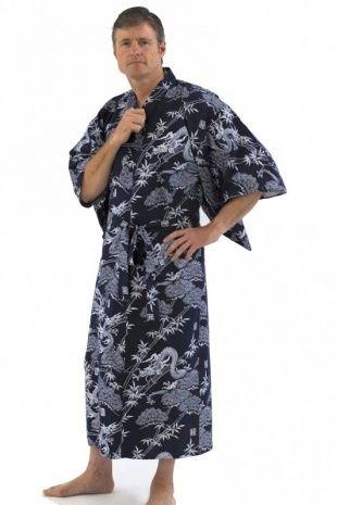 Men's Kimono Dressing Gown