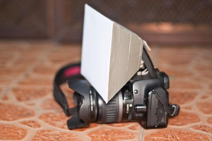 There are solutions to diffuse your own camera flash, but they usually cost a few dollars. If you don't have the spare cash, then you can try making your own from basic everyday items at home. The soft box example in this tutorial is one...