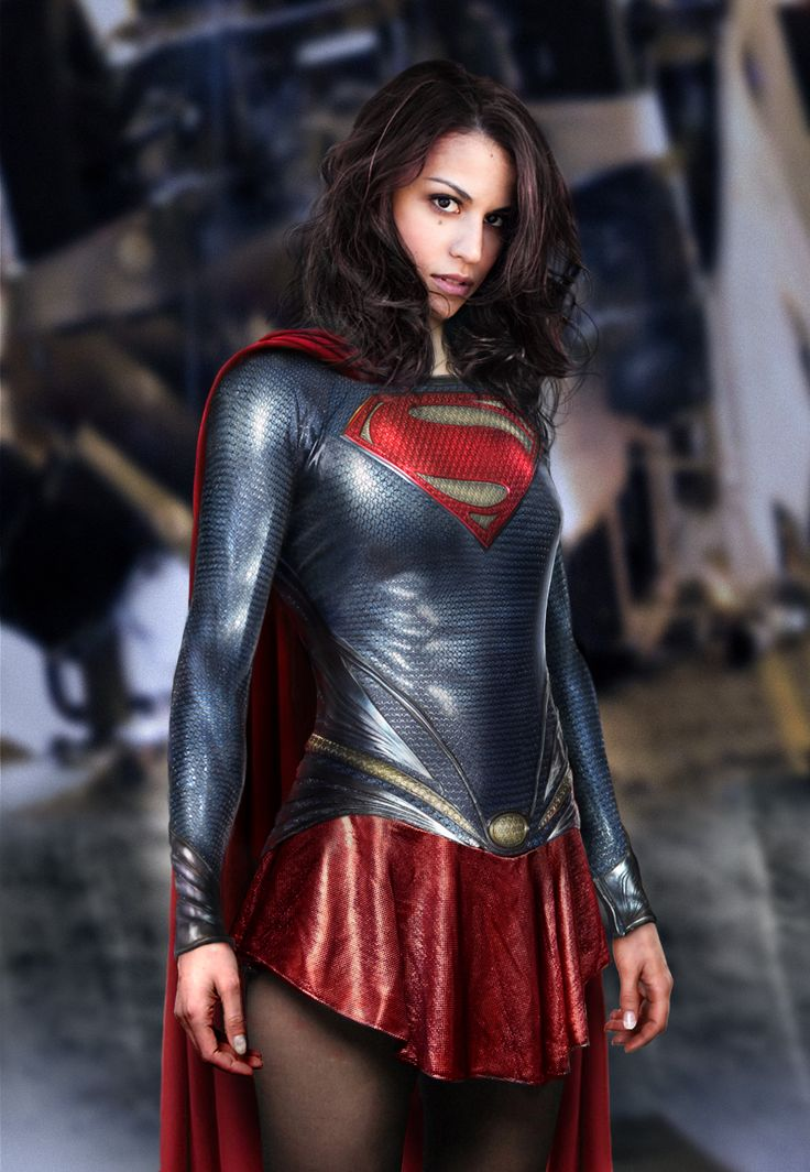 Check out this incredibly cool Supergirl costume design inspired by the costume in Zack Snyder's Man of Steel! It was created by Josh of Fan Art Exhibit for a new IGN employee named Alexis who commissioned the piece so she could have a badass profile photo