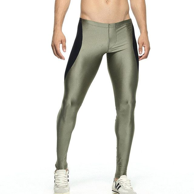 Sexy Mens long tight pants full length pants men male harem trousers Casual Pencil sweatpants Stretch Bottoms