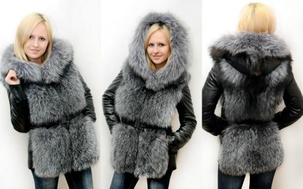 Кожаная куртка 40 размер с мехом купить спб
