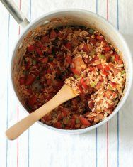 Quick Jambalaya - this is easy and delicious!