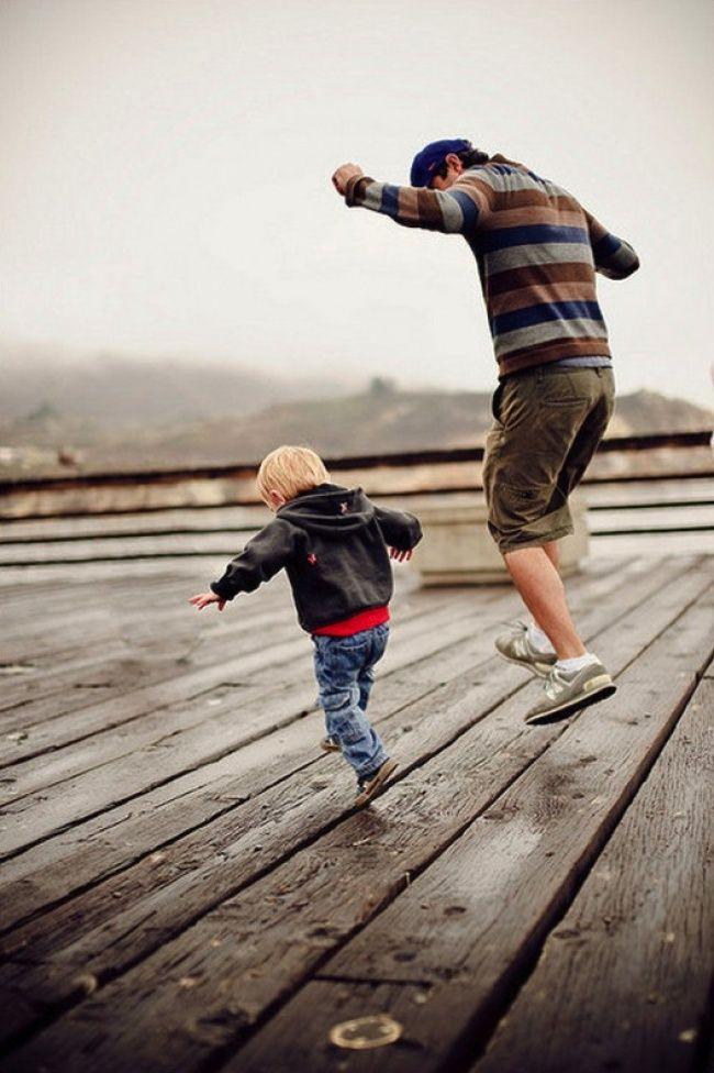 Témoigner du lien entre un père et son fils peut être quelque chose de magnifique et touchant.