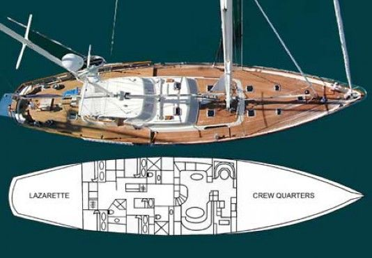 All Ocean Sailing Yachts for Sale- 89 Don Brooke Sailing Yacht Aurastel for Sale