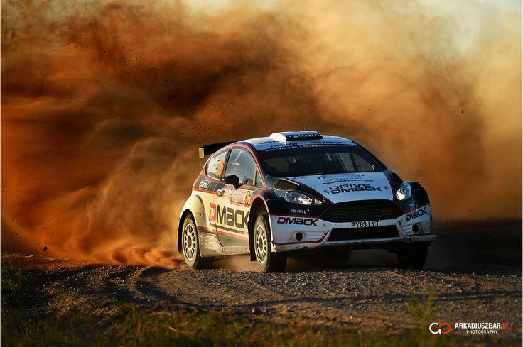 Ott Tanak - Rally Poland 2014