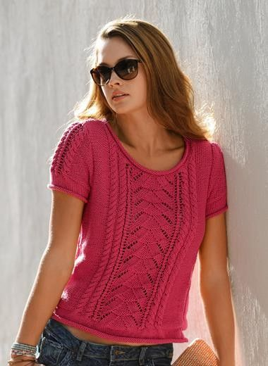 Summer!!! FREE pattern: Go to http://pinterest.com/DUTCHYLADY/share-the-best-free-patterns-to-knit/ for more than 1500 FREE patterns to KNIT