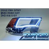 2009-2013 Dodge Ram Sport Quad Halo Kits