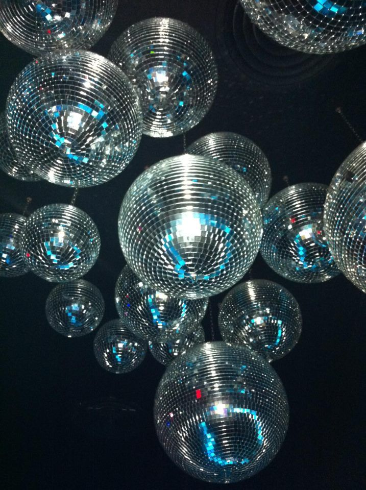 Why install one mirrorball when you can install dozens? #childofwild