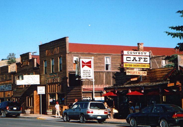 Cowboy Cafe, Dubois, Wyoming © George McV/Flickr