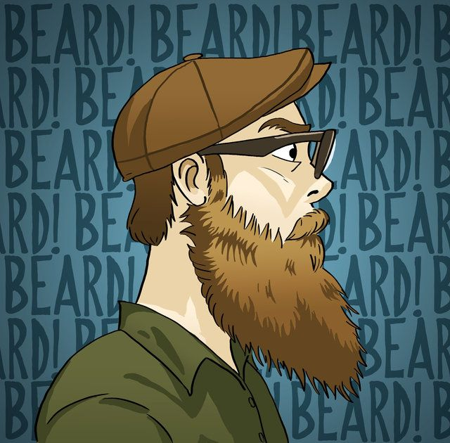 From one Michael to another, you have an EXCELLENT beard. I dream of having a beard like this. #beard #glasses #digital - Created by Mikey Dean, inspired by Sktchy