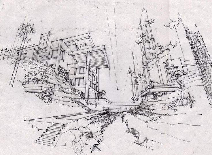 Modern Architecture Sketches 301 best architecture sketch images on pinterest | architectural
