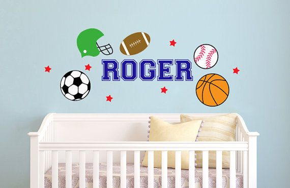 13 best images about baby boy sports bedroom ideas on pinterest closet dividers sport - Baby boy sports room ideas ...