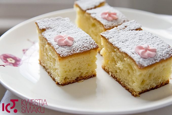 Ciasto jogurtowe. Najprostsze ciasto z jogurtem i olejem. Ciasto francuskie, dla dzieci. Proste i smaczne.