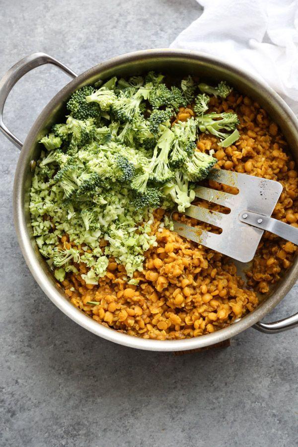 Ayurvedic Cleansing Green Kitchari Bowl