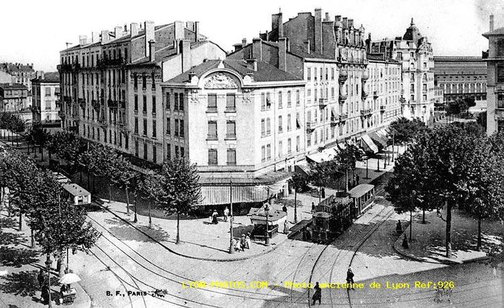 Photos diverses - Cours Vitton, boulevard des Belges