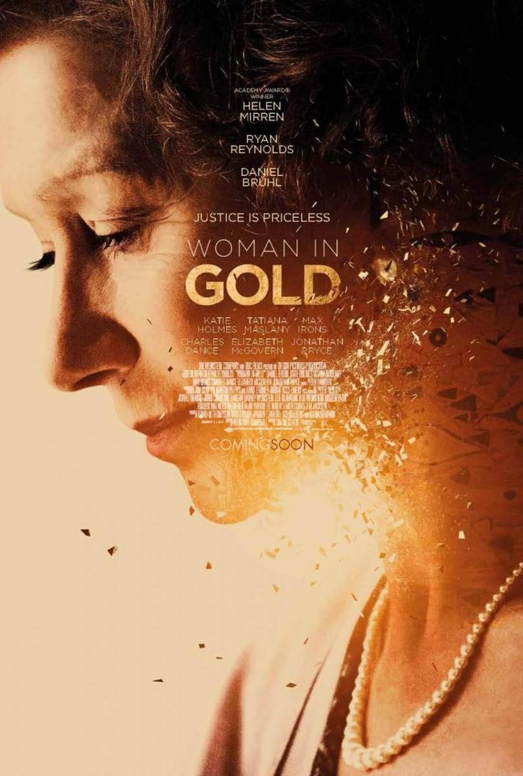Woman in Gold (2015) ... Maria Altmann, an octogenarian Jewish refugee, takes on the Austrian government to recover artwork she believes rightfully belongs to her family. (01-Sep-2015)