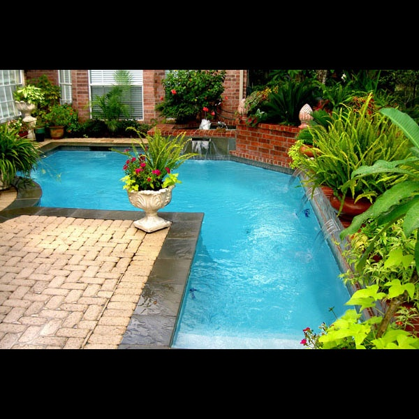 1000 Images About Nicolock Patios Pools On Pinterest: 1000+ Images About Pools For Small Yards On Pinterest