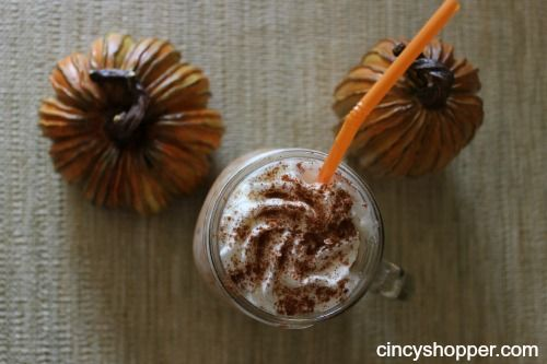 Time for a Pumpkin Spice Frappuccino Recipe. I have been wanting to try out a Pumpkin Spice Frappuccino at Dunkin Donuts but honestly did not want to spend