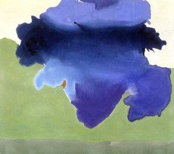 helen frankenthaler paintings | Helen Frankenthaler