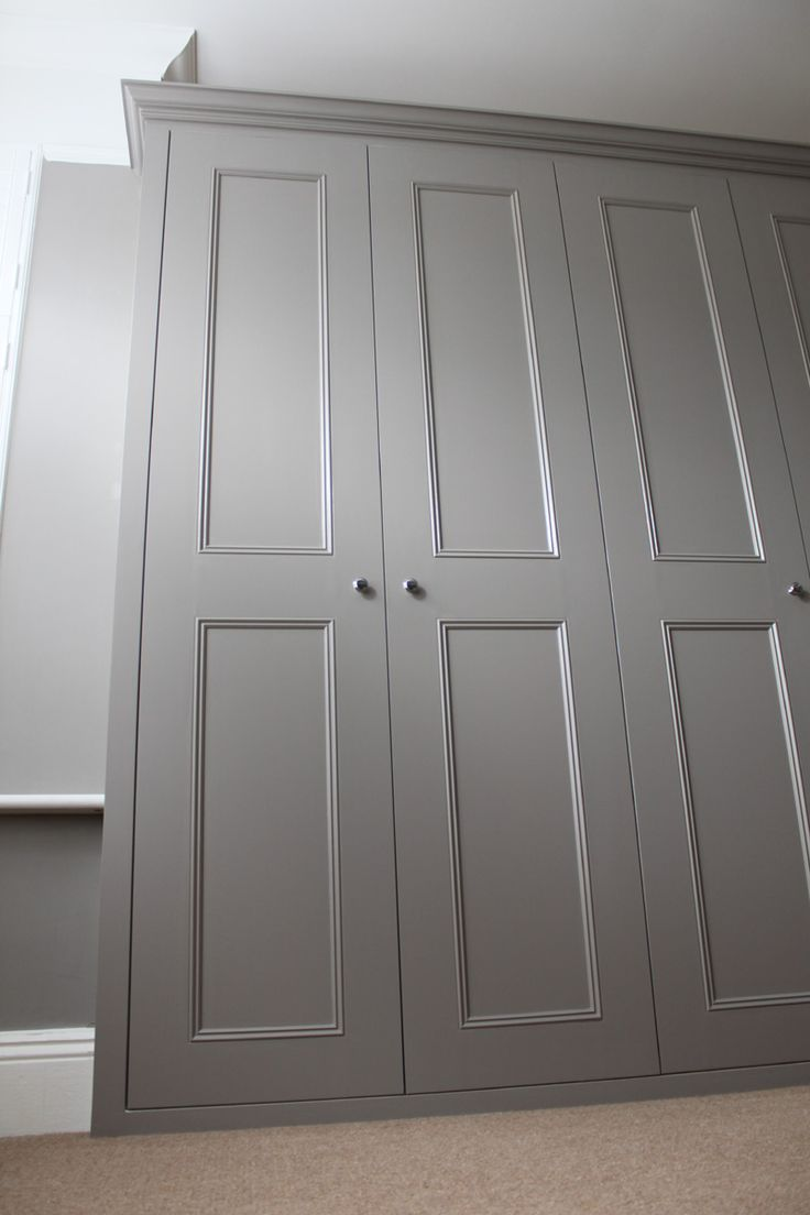 perfect shade of grey to paint my wardrobe.