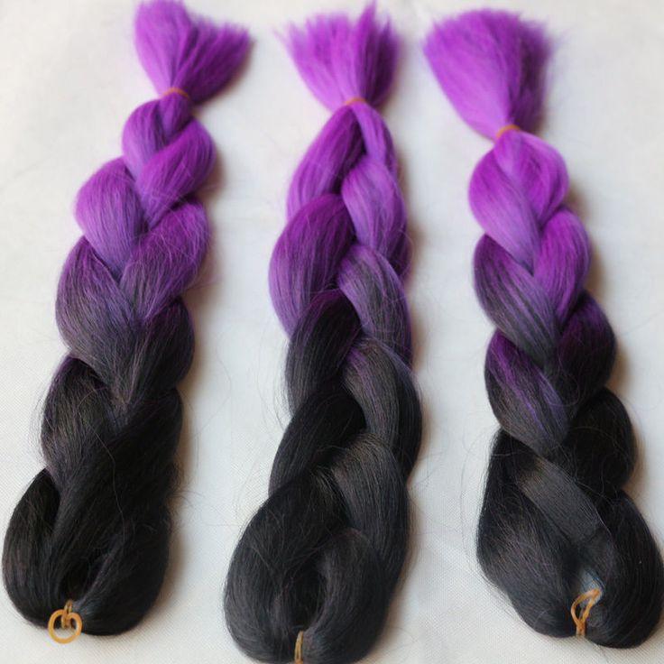 how to prepare kanekalon hair for braiding