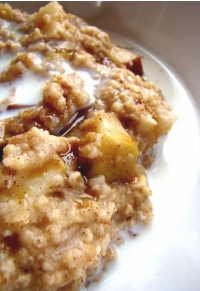 pintrestthings [licensed for non-commercial use only] / Apple Oatmeal