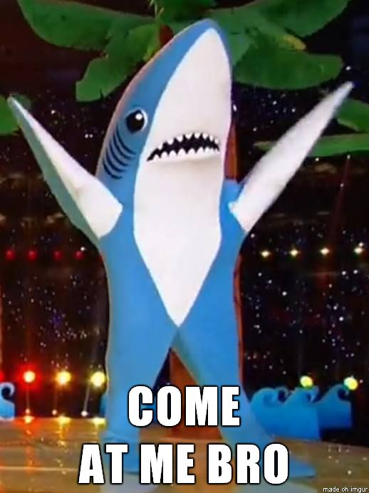 Left Shark 4-evah