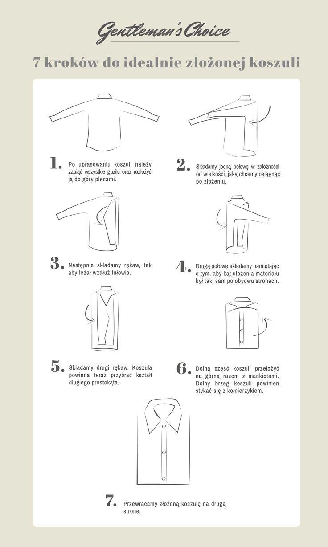 Warto wiedzieć jak jak poprawnie złożyć koszulę. Z naszą instrukcją już nigdy nie będziesz miał z tym problemu!