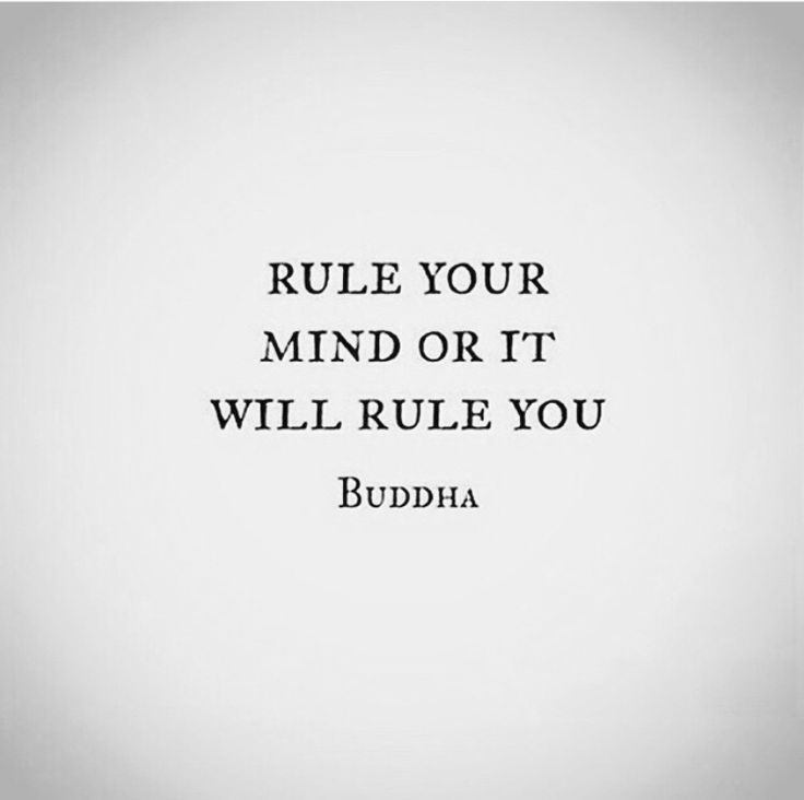 Buddha ..rule your mind