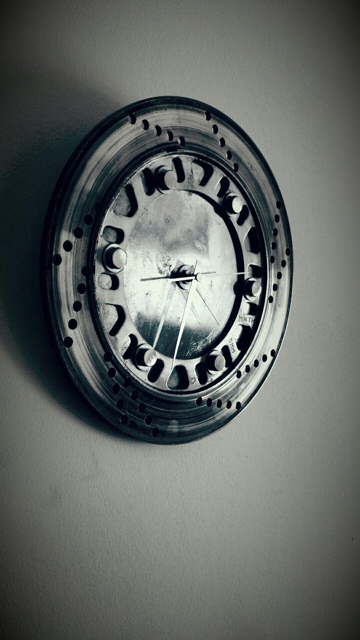 Horloge disque de frein