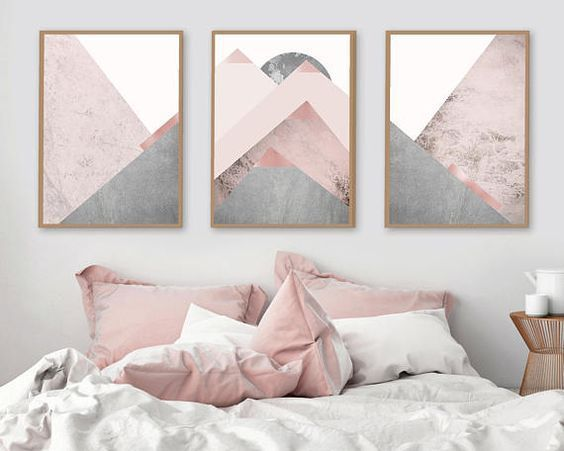 Pink and Grey bedroom // Shop 100% Bamboo Eco-friendly Bedding & Apparel www.yohome.com.au xx