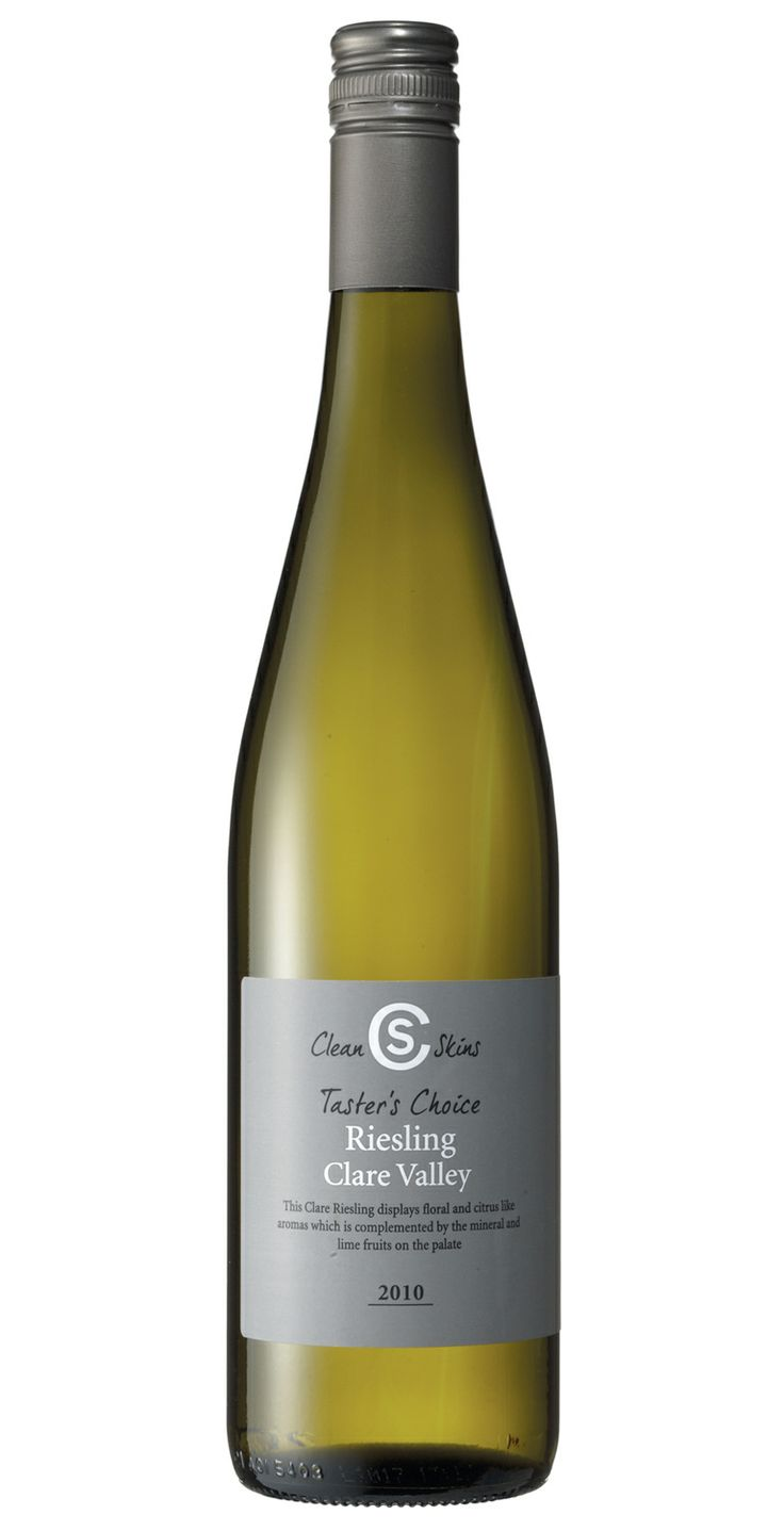 Clean Skins Taster's Choice Clare Valley Riesling 2013 $7-$8. This unprepossessing grey label conceals a young riesling that won a gold medal at the Adelaide wine show. Amazing and well worth a gong. Exclusive to Dan Murphy's stores.