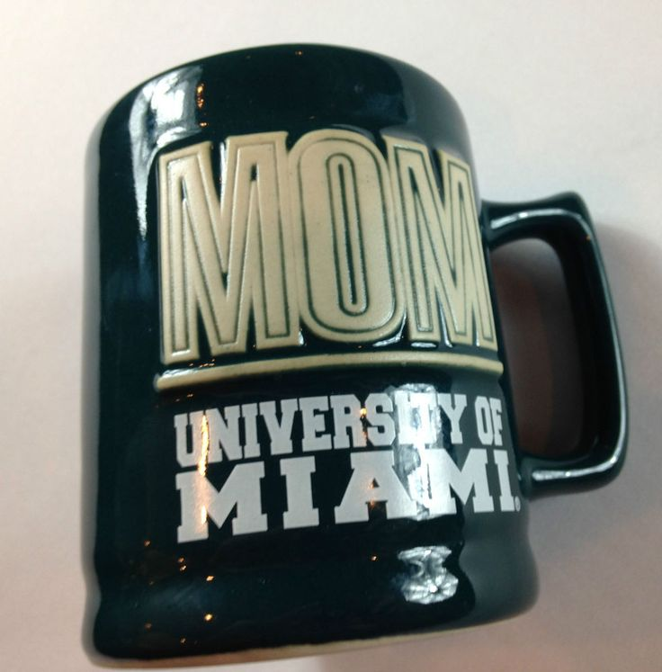 University of Miami Mom Coffee Mug Cup 3d Raised Letters Hurricanes Canes http://www.ebay.com/itm/University-of-Miami-Mom-Coffee-Mug-VTG-Cup-3d-Raised-Letters-Hurricanes-Canes-/301942909033?roken=cUgayN&soutkn=QZZljt #bogo #canesnation #theu #vintage #acc