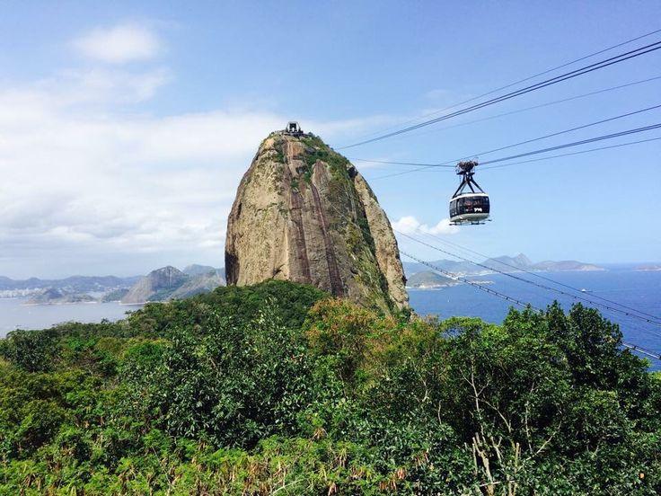Morros de la bahía Guanabara, Río de Janeiro, Brasil 2014