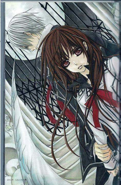 Vampire Knight, Yuki and Zero.