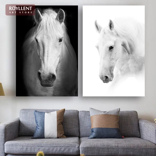 Wall Art Black Horse : Best horse wall art ideas on