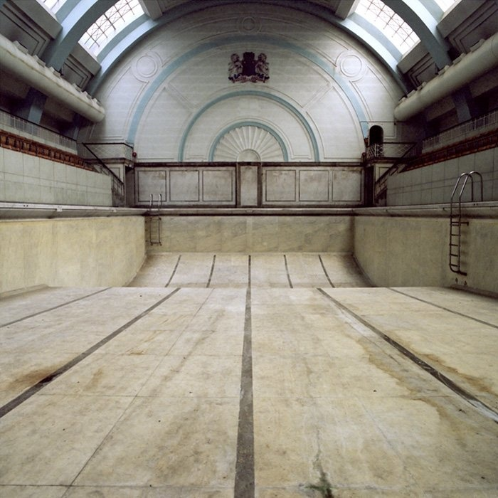 Soho Marshall Pool London, Opened 1931 - closed 1997. Absence of Water series by Gigi Cifali. 71 x 71 cm (50 x 50 cm image size)  £895.00