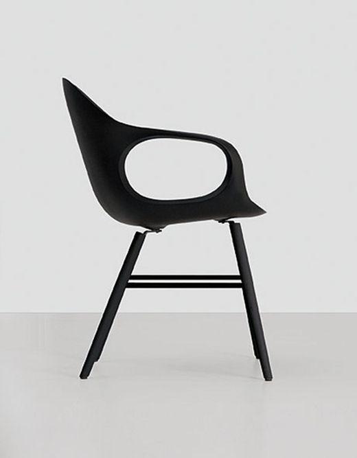 Elephant chair in black . minimal design | chair . Stuhl . chaise | Design made in Germany: Eva Paster & Michael Geldmacher | KRISTALIA |