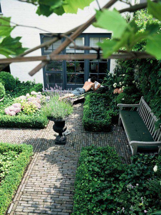 Klinkers Bart & Pieter | Tuinarchitectuur - roof garden - 80 m2 - 1th floor- romantic & classic