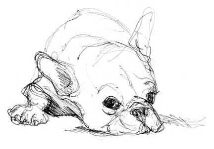 french bulldog art - Google Search