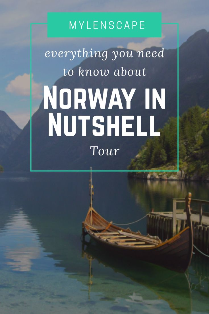 Most scenic tour of beautiful Norway