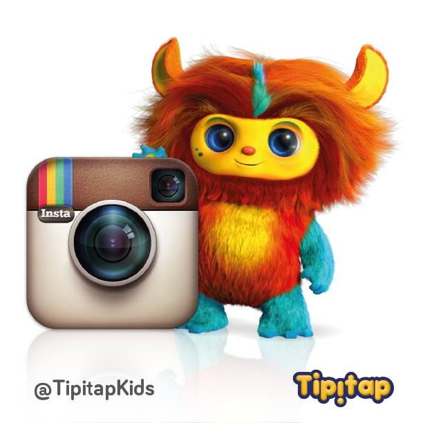 Are you following us on Instagram?! You can find us here: http://instagram.com/tipitapkids