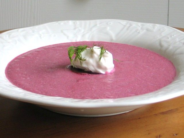 Top Eastern European Hot Soup Recipes: Creamy Beet Borscht Recipe