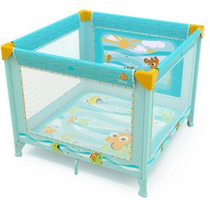 Disney Baby Finding Nemo Square Playard, Fins & Friends