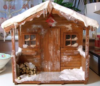 wonderful for how to add snow to the roof and make amazing to scale ice  Michelle's Mad World