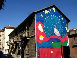 Torino - Museo d'Arte Urbana - I Luoghi della 4 - San Donato Campidoglio Parella