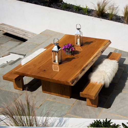 Some Like It Bendy Has To Be One Of Our Most Impressive Oak Dining Tables  With