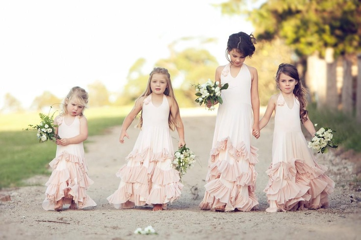 Not planning on getting married again but i think these Dollcake dresses by One Good Thread are precious for flower girls!