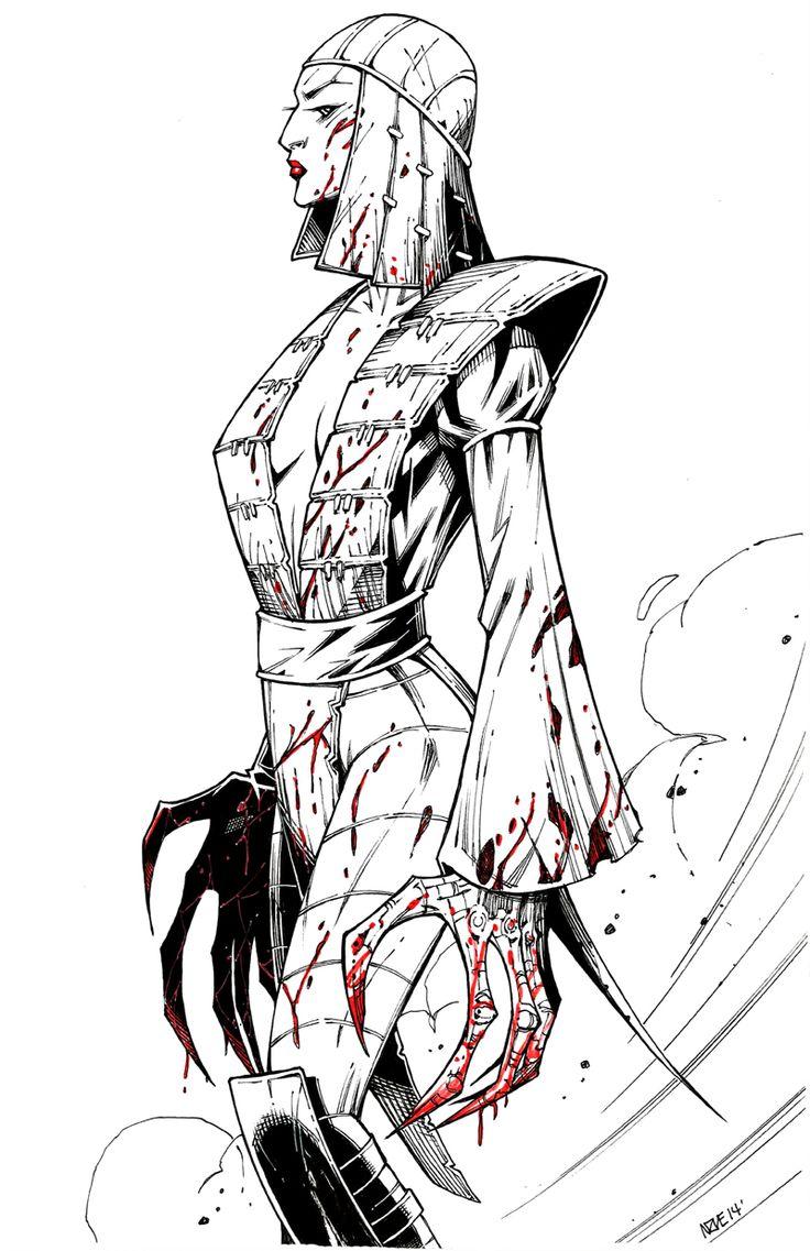 Lady Deathstrike- Oliver Nome